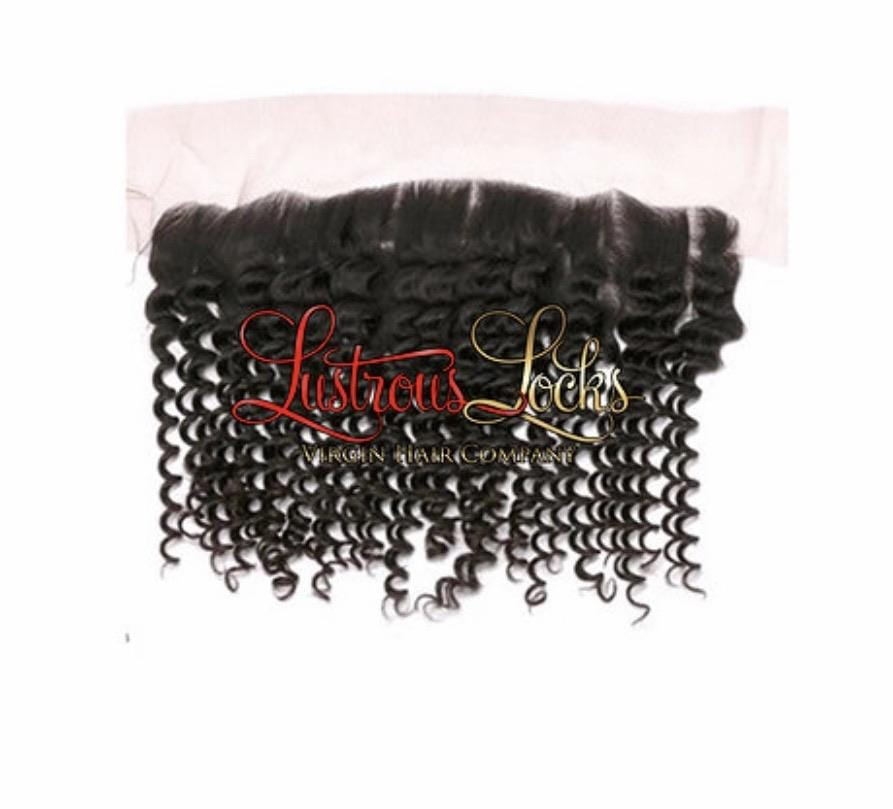 Kinky Curly Frontal - Lustrous Locks Hair Co.