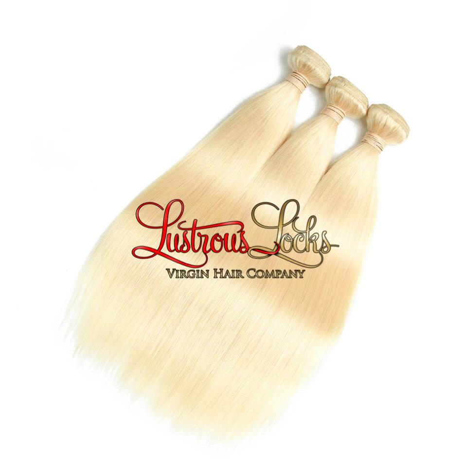 Blonde Bombshell Silky Straight Bundle Specials - Lustrous Locks Hair Co.