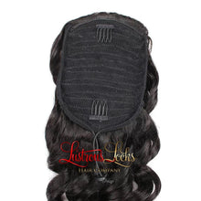 Load image into Gallery viewer, Luxe Wave Draw String Ponytail - Lustrous Locks Hair Co.