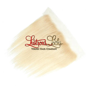 Blonde Bombshell Silky Straight Lace Frontal - Lustrous Locks Hair Co.