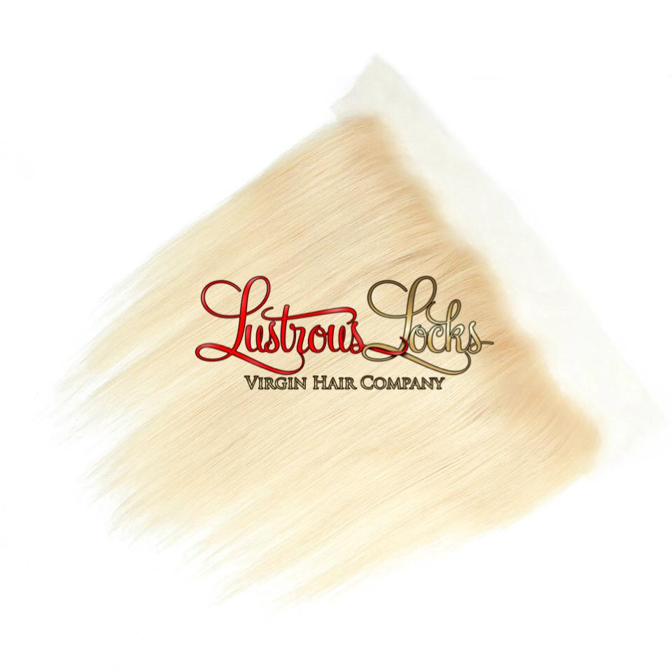 Blonde Bombshell Silky Straight Lace Frontal