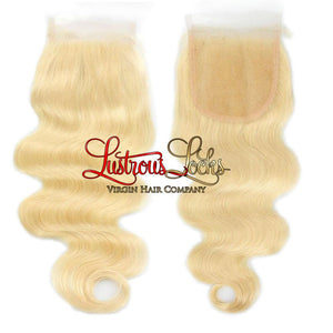 Blonde Bombshell Luxe Wave Closure