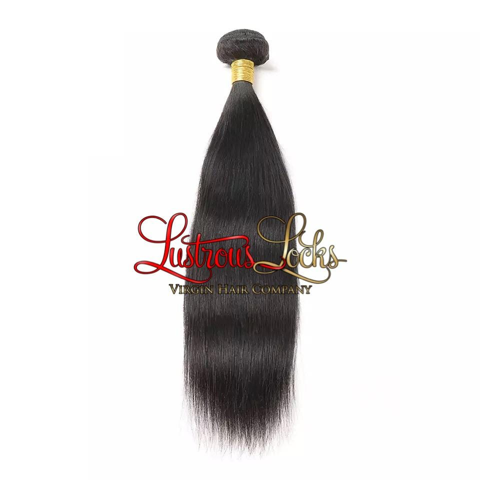 Silky Straight Bundle - Lustrous Locks Hair Co.