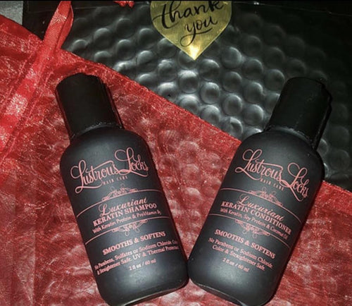 Luxuriant Keratin Collection Sample Set
