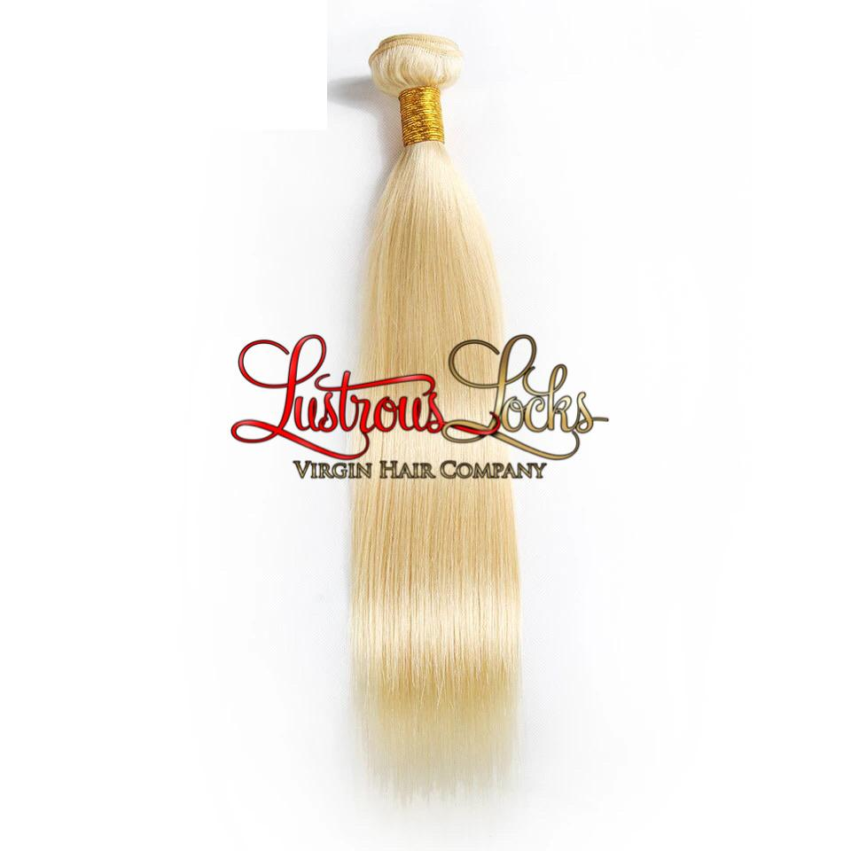 Blonde Bombshell Silky Straight Bundle - Lustrous Locks Hair Co.