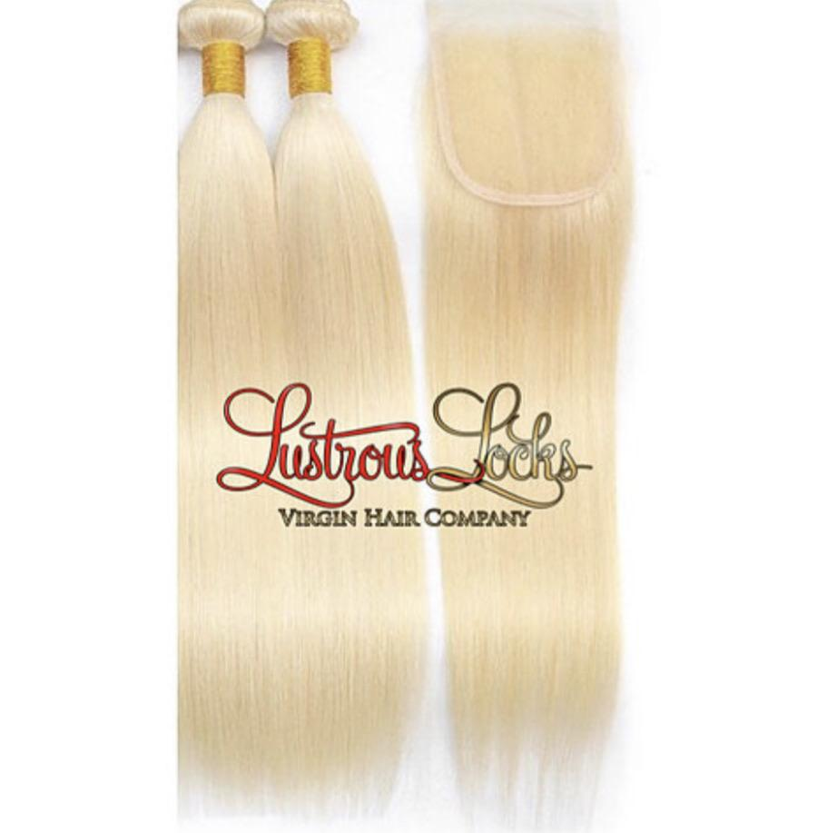 Blonde Bombshell Bob Bundle Specials - Lustrous Locks Hair Co.