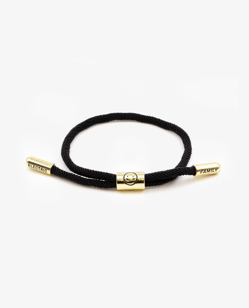 Good Times New School Bracelet (Black/Gold)