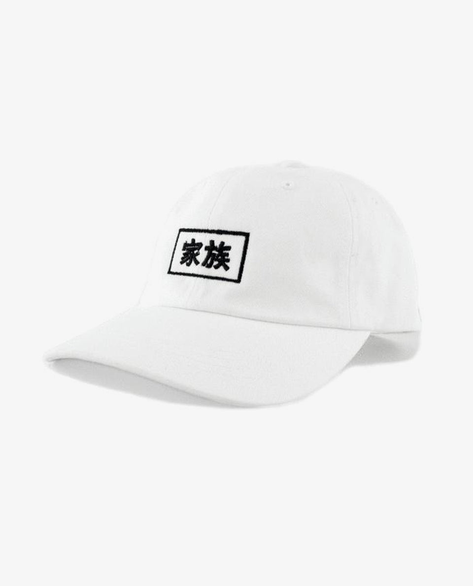 Kazoku Dad Hat White
