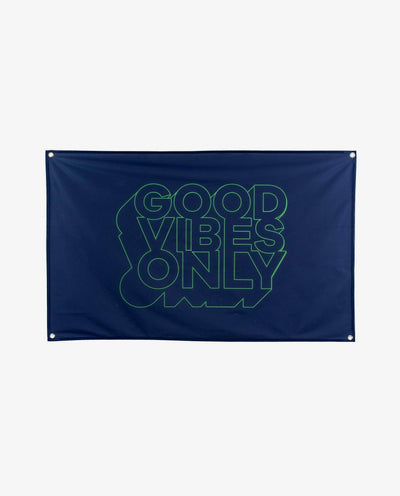 Good Vibes Only Flag - Papilyo