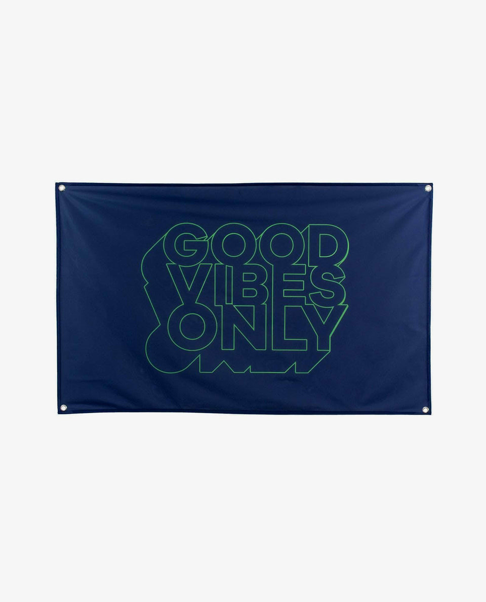 Good Vibes Only Flag