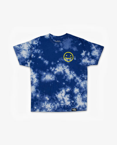 Good Times Club Tie Dye - Blue/Grey - Papilyo