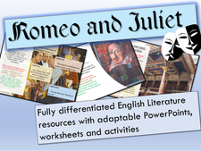 Romeo and Juliet Complete Scheme of Work