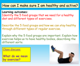Keeping Healthy KS2 PSHE