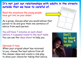 Safe Relationships KS2 PSHE