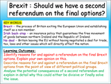Brexit - Should we have a second referendum?