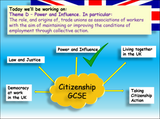 Role and origins of Trade Unions Edexcel Citizenship GCSE