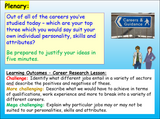 Careers - Researching different jobs