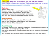 AQA Citizenship GCSE Local Government and Funding