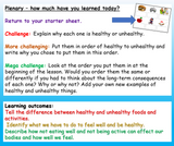 Keeping Active PSHE KS3 (Lower ability & SEN)