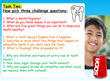 Dental / Oral Hygiene PSHE Lesson