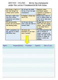 Tutor Time Activity Booklet