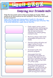 Gangs and Teen Crime Workbook / Home Learning PSHE