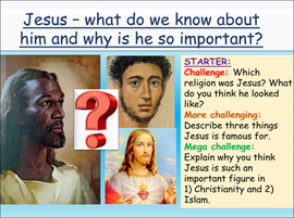Introduction to Jesus Lesson