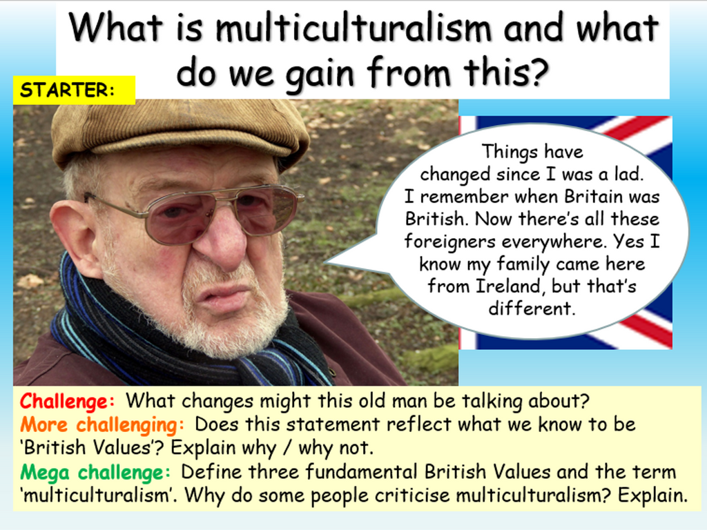 Multiculturalism and British Values