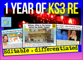 1 Year of KS3 RE