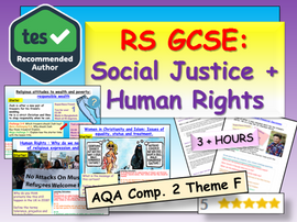 Religion, Human Rights and Social Justice RS GCSE Theme F Unit