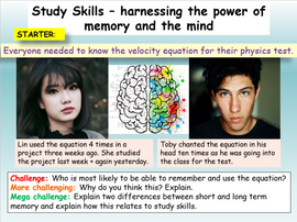 Revision Skills - Using your memory