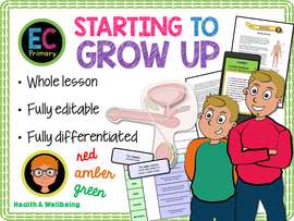 Growing up - an introduction to boys' puberty