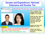 Finance - Tax, Payslips and National Insurance Lesson