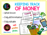 Keeping Track of Money - Budgeting