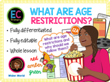 Age restrictions in the media
