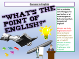 Careers using English, Maths and Science