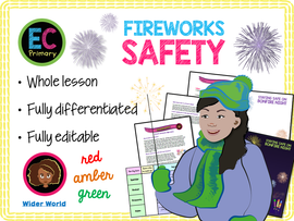 Bonfire night and firework safety