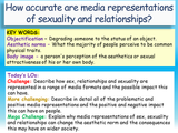 Sex and the Media PSHE