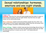 Sex, Relationships, Emotions and Hormones