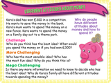 Attitudes to Money PSHE