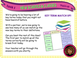 Transition + New Classes KS2 PSHE Lesson