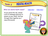 Mental Health Introduction PSHE Lesson
