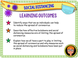 Social Distancing + Lockdowns KS2 - Coronavirus / Covid 19