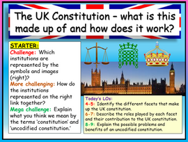 UK Constitution AQA GCSE