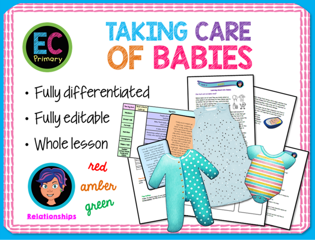 Looking after babies PSHE lesson