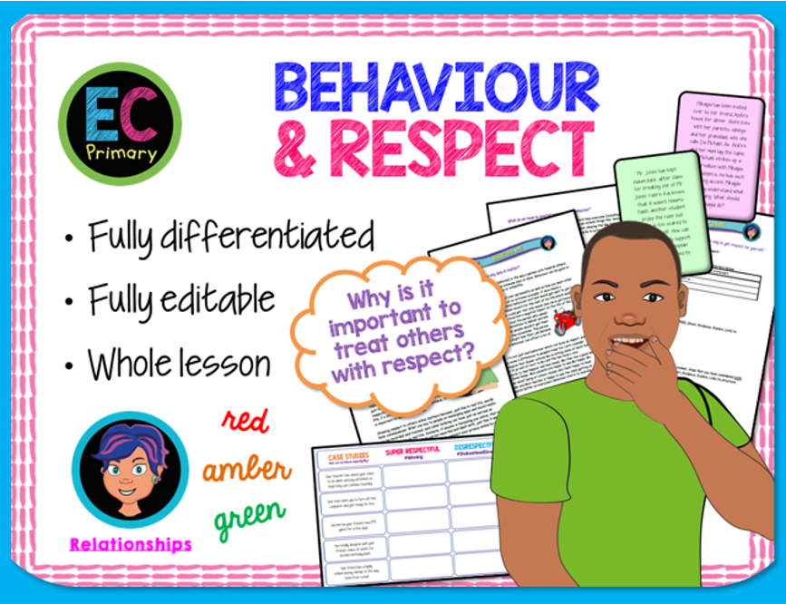 Behaviour and Respect PSHE