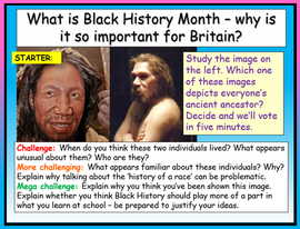 Black History Month 2x Tutor Time Sessions