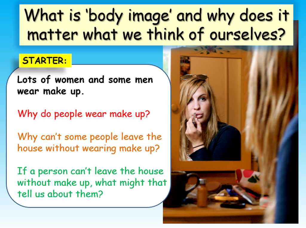 Body Image - KS3 (Lower ability & SEN)