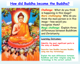 Buddha and Wesak - Buddhism Introduction RE
