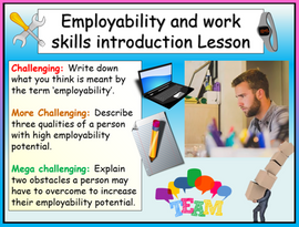 Careers - Employability and Work Skills Introduction Lesson